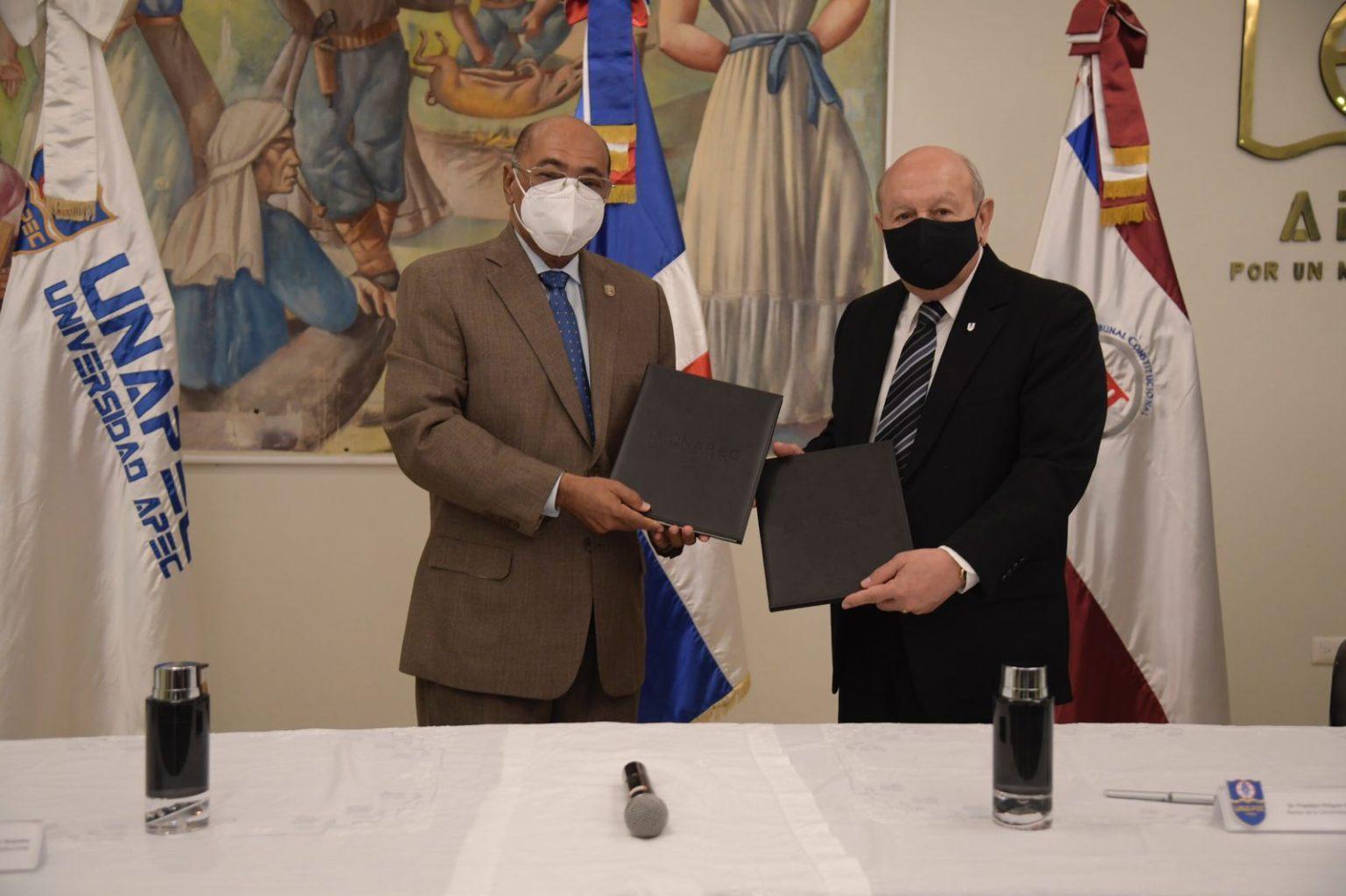Tribunal Constitucional y Unapec firman convenio de cooperación