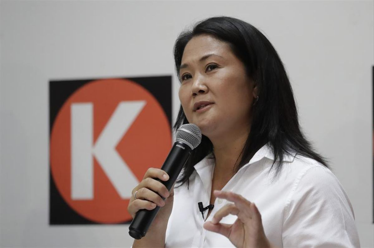 """Keiko Fujimori: """"Estoy segura de que todos los peruanos van a saber tomar una buena decisión, voten sin miedo"""""""